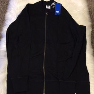 Adidas Jacket With Zipper - Mens Size Small NWT